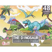 Tai Sing大生 The Dinosaur Jumbo Floor Puzzle 恐龍拼圖