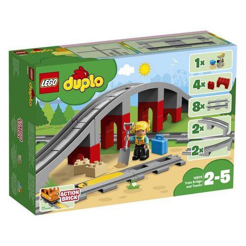 LEGO樂高得寶系列 鐵路橋與鐵軌 10872 積木 玩具