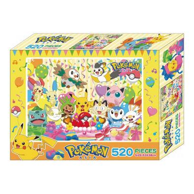 Pokemon寶可夢520片盒裝拼圖(D)