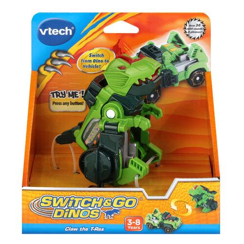 Vtech 聲光變形恐龍車 霸王龍 魔爪