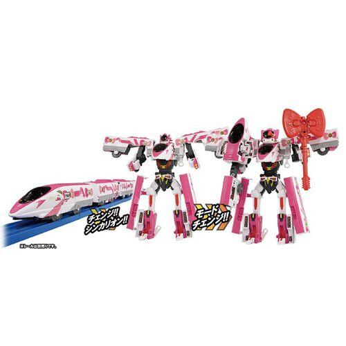 Plarail-Shinkalion新幹線變形機器人 Hello Kitty