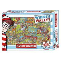 Jinn Foot京甫 威利在哪裡520片盒裝拼圖