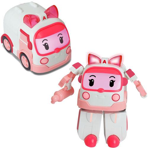 Robocar Poli波力救援小英雄 Led變形系列-安寶