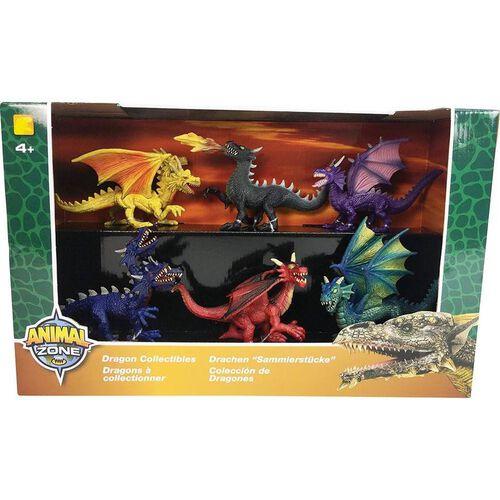 Animal Zone動物叢林 6隻入小恐龍組
