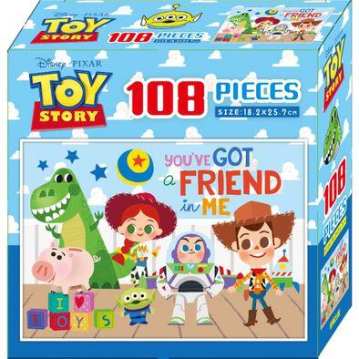 Disney玩具總動員108片盒裝拼圖(A)