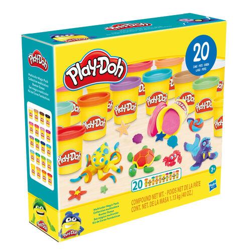 Play-doh培樂多 20色 (2oz)