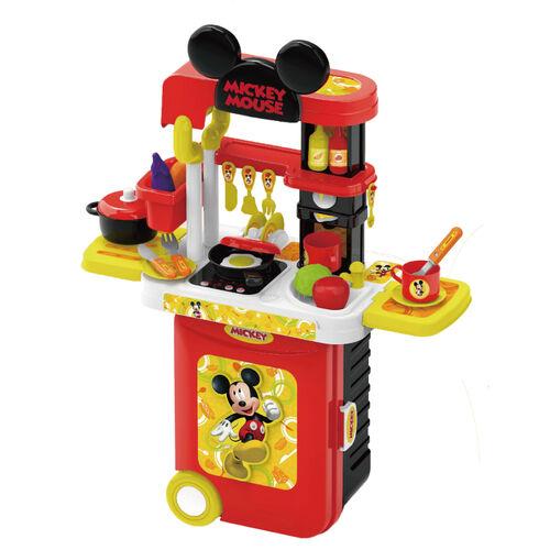 Disney迪士尼 米奇系列 3合1廚具旅行箱