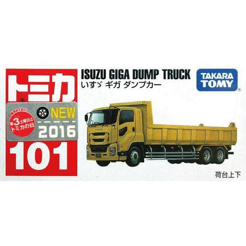 Tomica多美 No.101 號 ISUZU傾倒卡車