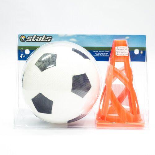 Stats 運動世界 足球三角錐兩件組