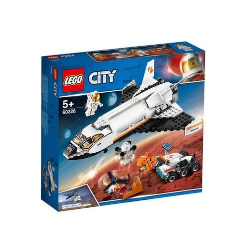 LEGO樂高城市系列 60226 火星探究太空梭 積木 玩具