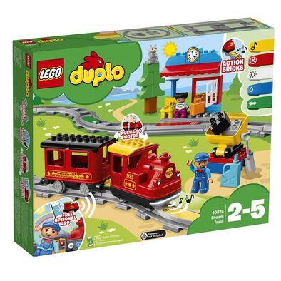 LEGO樂高得寶系列 10874 蒸氣列車