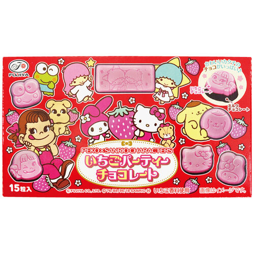 Fujiya不二家 Peko&Kitty造型(代)巧克力