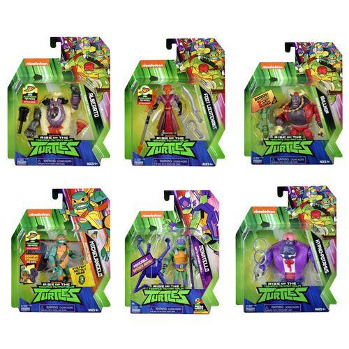 Teenage Mutant Ninja Turtles忍者龜 經典公仔系列 - 隨機發貨
