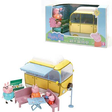 Peppa Pig粉紅豬小妹 Peppa Pig 超大露營車