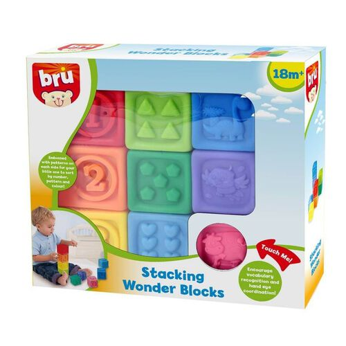 BRU Infant & Preschool 方塊疊疊樂