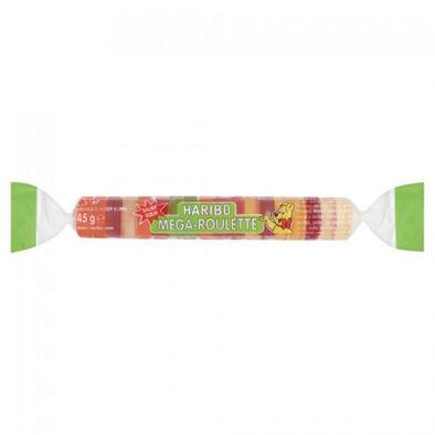 Haribo哈瑞寶鈕扣Q軟糖45g 爆酸水果風味