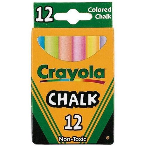Crayola繪兒樂 6色12入粉筆