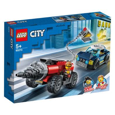 Lego City樂高 城鎮系列 60273 特警鑽機追逐戰
