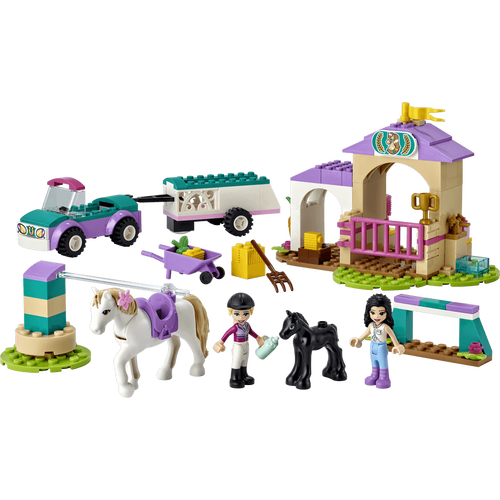 Lego樂高 41441 小馬訓練場與拖車