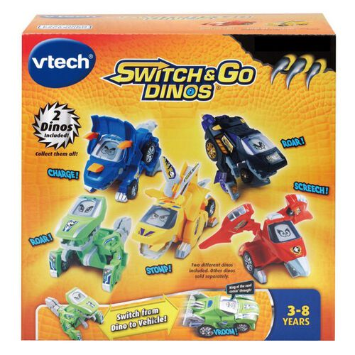 Vtech 聲光變形恐龍車-劍龍 -莫浩克