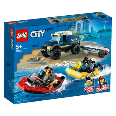LEGO樂高60272 特警船隻運輸組