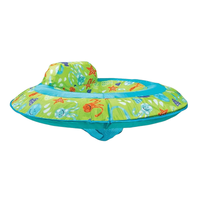 Swim Ways嬰兒泳圈(含遮陽帽)