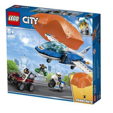 LEGO樂高城市系列空中警察降落傘追捕 60208