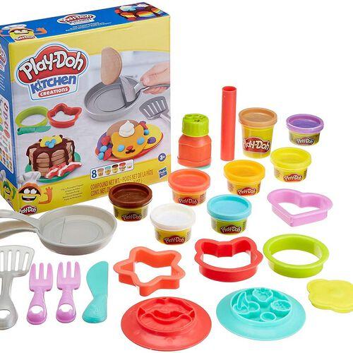 Play-Doh培樂多 廚房系列 翻烤鬆餅遊戲組