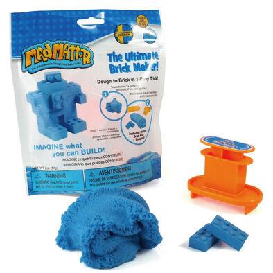 瑞典 Mad Mattr瘋狂博士mm沙 小積木方塊包-藍