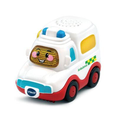 Vtech嘟嘟聲光互動車-救護車