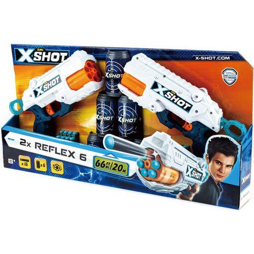 Zuru X-Shot 6發發射器2入組