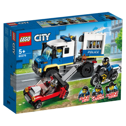 LEGO樂高 60276 警察囚犯運輸組