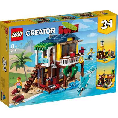 LEGO樂高 31118衝浪手海灘小屋