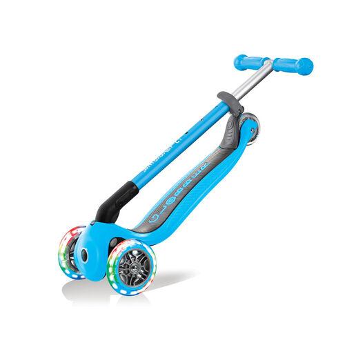Globber高樂寶 折疊滑板車 天藍