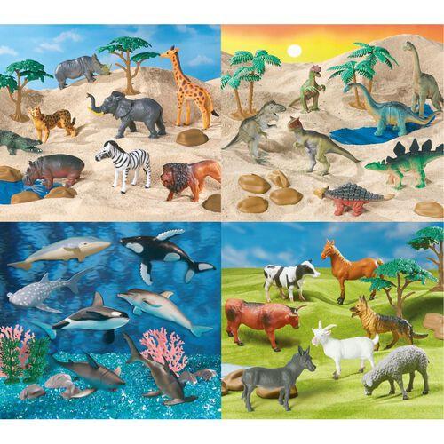 World Animal Collection 70件動物大探索模型組
