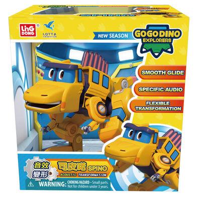Go Go Dino幫幫龍出動 音效變形司皮喏
