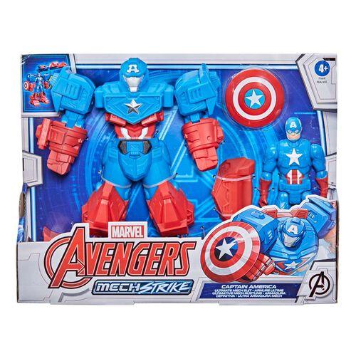 Marvel Avengers漫威復仇者聯盟 機械盔甲系列 8吋豪華人物組 - 隨機發貨