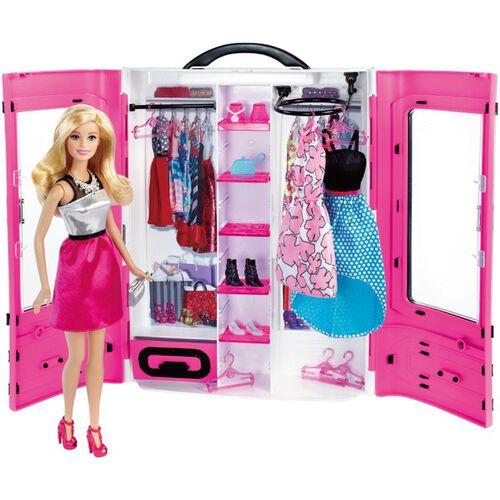 Barbie芭比閃亮造型衣櫃組 - 隨機發貨
