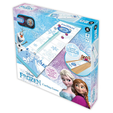 Disney Frozen迪士尼冰雪奇緣桌上冰壺