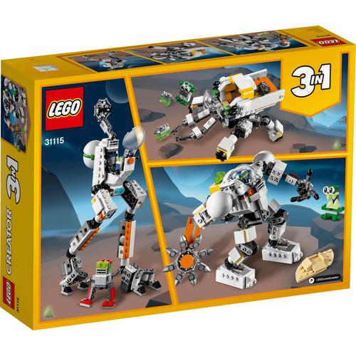 Lego樂高 太空採礦機械人 Creator 31115