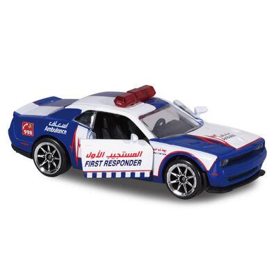 Majorette美捷輪小汽車小汽車 杜拜救護車 - 隨機發貨