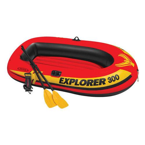 Intex 雙人充氣船(附打氣筒)(211*117*41cm)