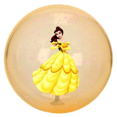 Disney迪士尼 貝兒閃亮水晶球