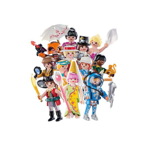 Playmobil摩比人 人偶包16系列-女生
