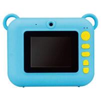 VisionKids 2021高階型 High End MODEL Instant Camu Mini 1200萬象素兒童拍立得相機  藍(送相紙價值$329)