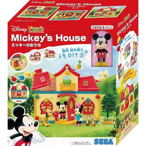 Disney迪士尼 DIY夢想城 米奇紅頂小屋