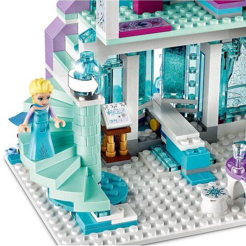 LEGO樂高迪士尼公主積木艾爾莎的魔法冰宮 43172 玩具