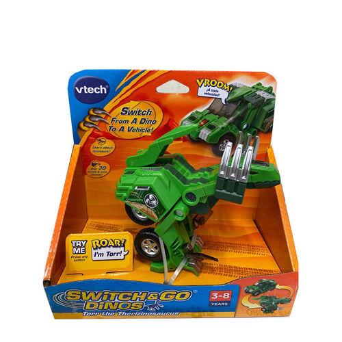 Vtech 聲光變形恐龍車-鐮刀龍-托爾
