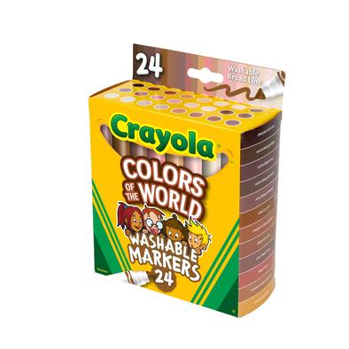 Crayola繪兒樂 世界之色 24CT BL 馬克筆