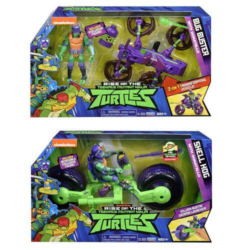 Teenage Mutant Ninja Turtles忍者龜 公仔戰鬥車系列 - 隨機發貨